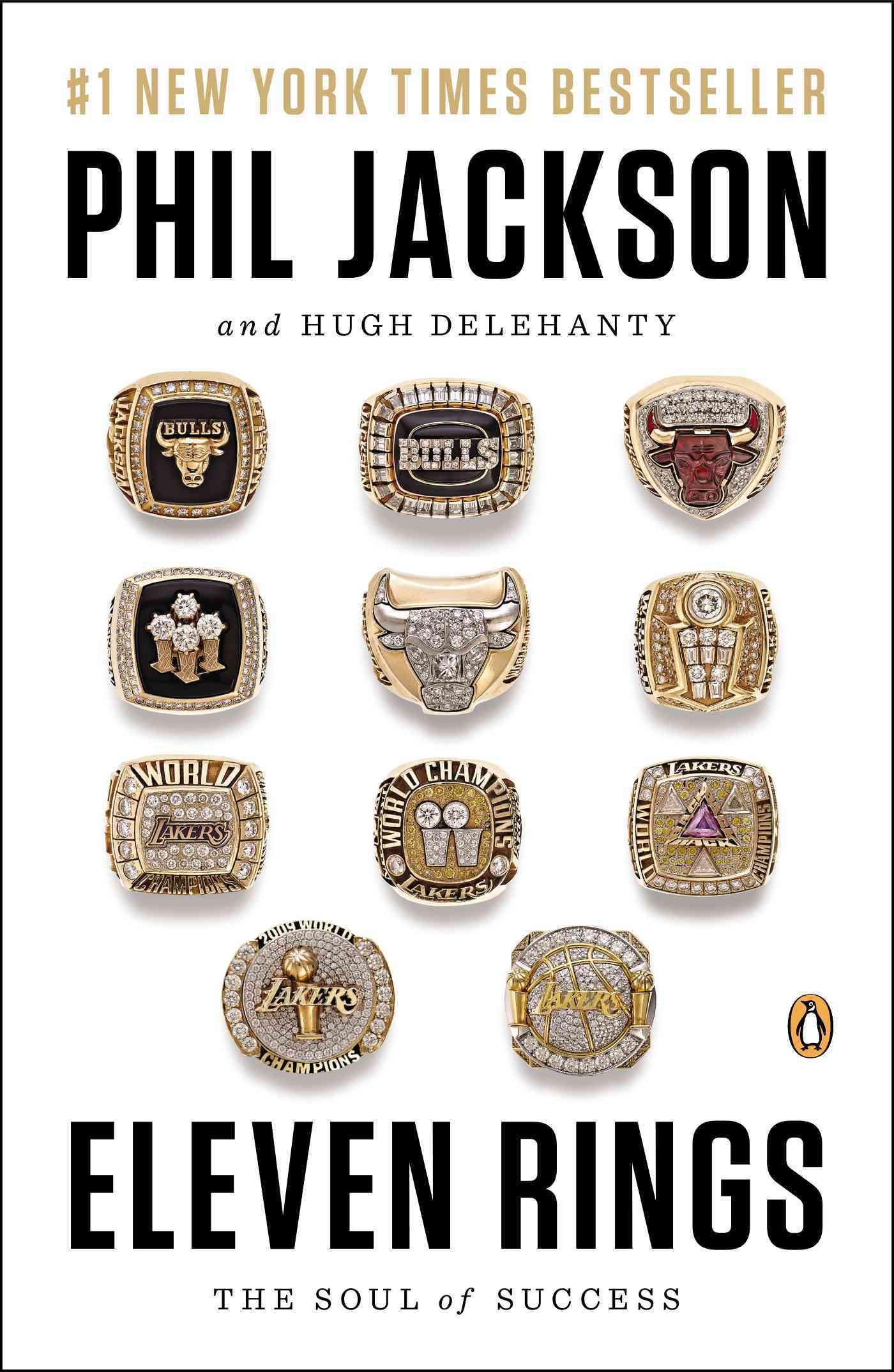 Eleven Rings By Jackson, Phil/ Delehanty, Hugh