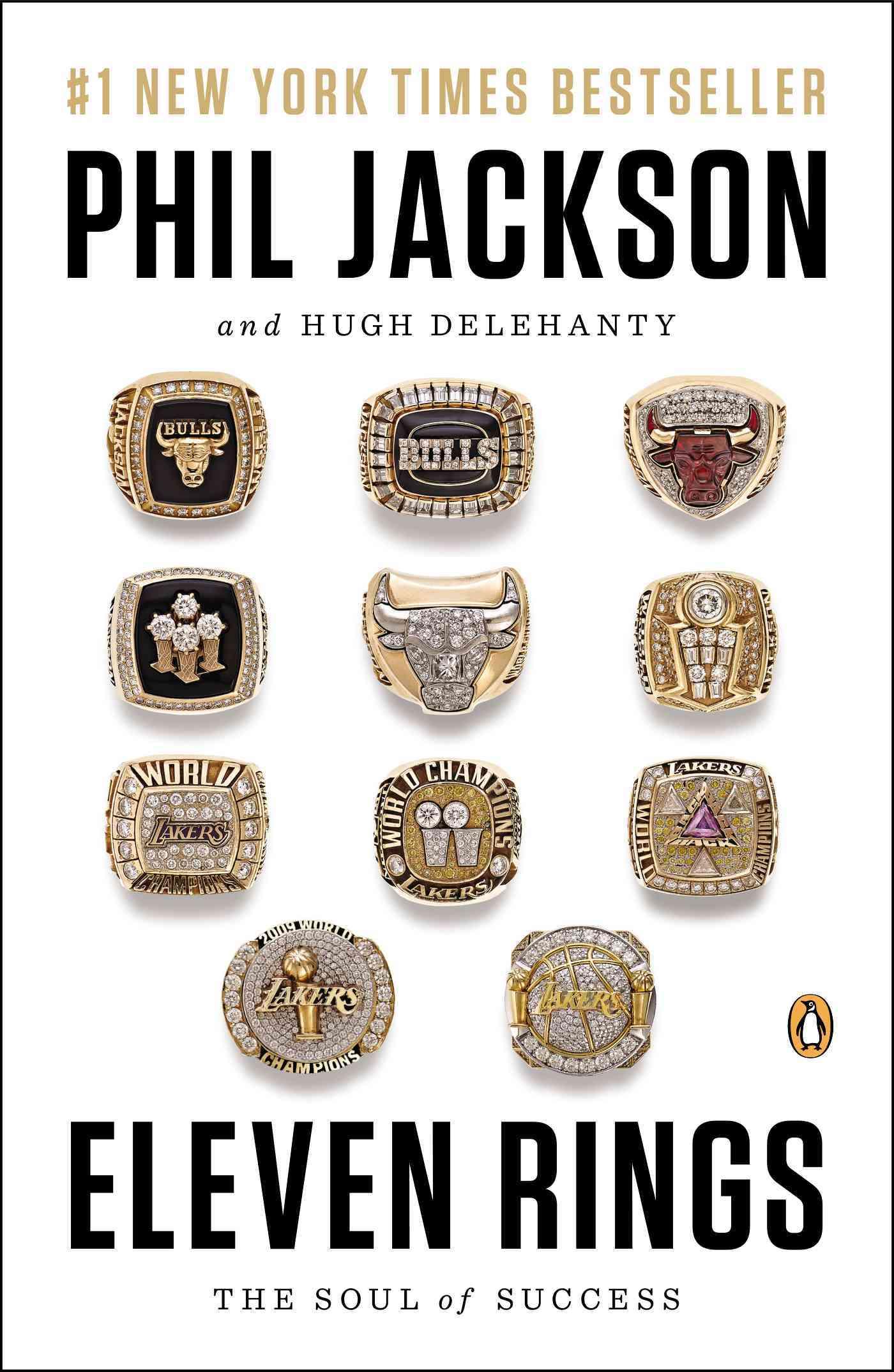Eleven Rings By Jackson, Phil/ Delehanty, Hugh